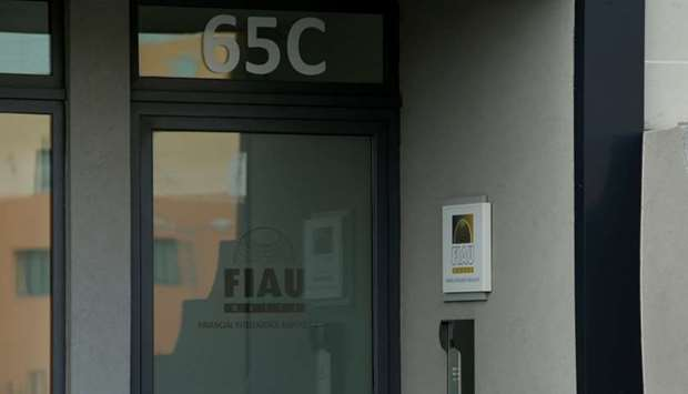 The office of Malta's Financial Intelligence Analysis Unit (FIAU), an anti-money laundering agency,