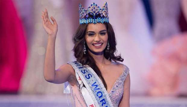 Miss India Manushi Chhilar wins the 67th Miss World contest final in Sanya