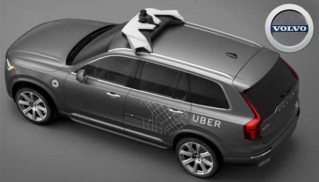 Volvo Cars to supply Uber with self-driving cars
