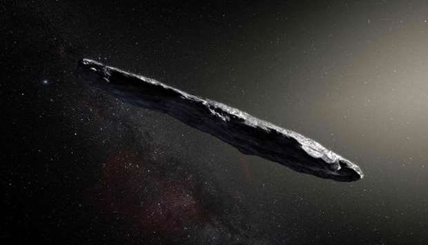 This handout photo released by the European Southern Observatory shows an artist's impression of the