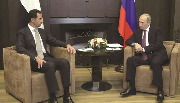 Putin hosts Assad in fresh drive for Syria peace deal
