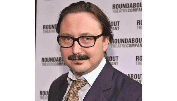 CANDID: John Hodgman had hoped Vacationland would be a stand-up special, but it didn't happen.