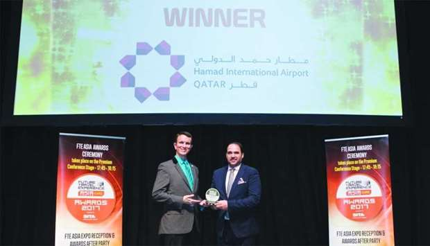 "HIA has been recognised as the ""Best airport in West Asia"" for the third time in a row"