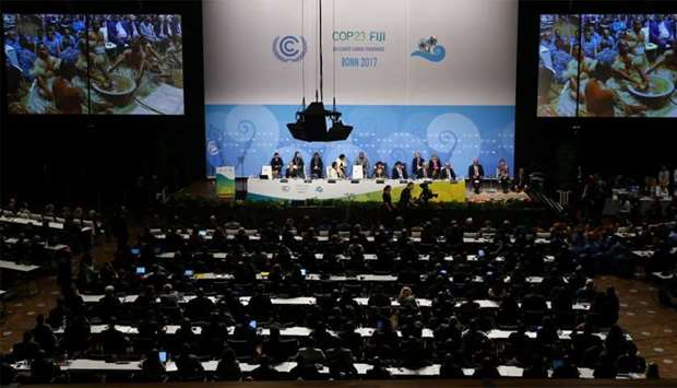 Opening session of the COP 23 UN Climate Change Conference in Bonn