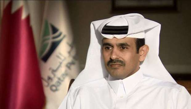 HE Minister of State for Energy Affairs, President and CEO of Qatar Petroleum Saad bin Sherida Al Ka