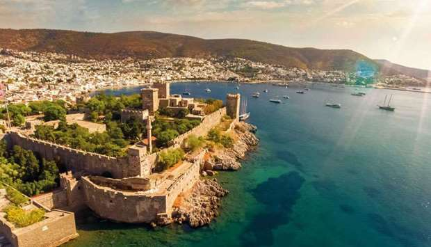 The picturesque resort city of Bodrum is famous for its many beaches, boutique hotels and seafood re
