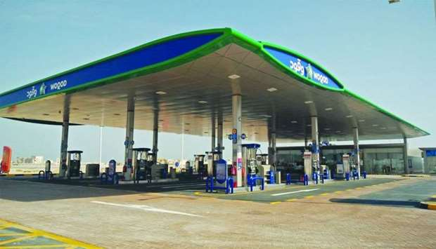 A view of the new Woqod Petrol Station, Al Wakrah -2