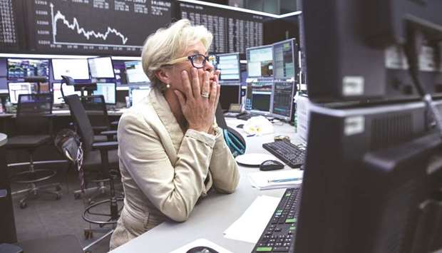 Europe markets end lower as US techs fall sharply