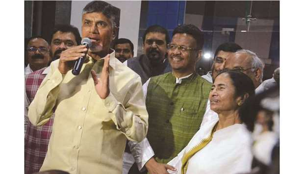 Opposition to meet before parliament session: Naidu