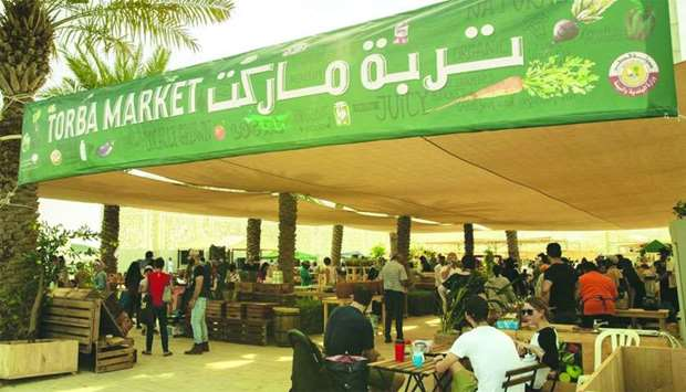 Torba Farmers Market is located at the Ceremonial Court in Education City.