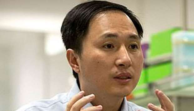 Chinese university professor He Jiankui
