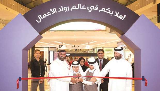 QDB hosts 'Young Entrepreneur Exhibition'