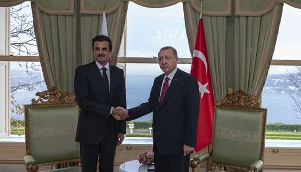 Qatar Turkey sign pacts to cement ties
