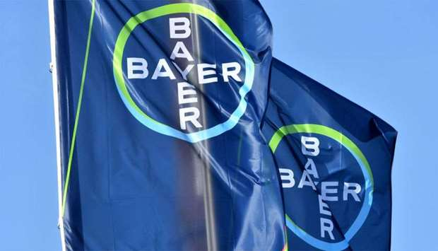 Logo of German chemicals giant Bayer
