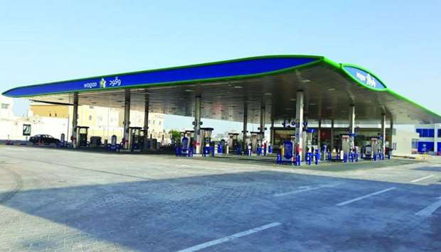 The Al Gharrafa-2 petrol station