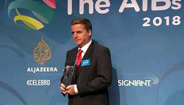 Al Jazeera English Channel has won three awards at the 14th AIBs Awards in London.