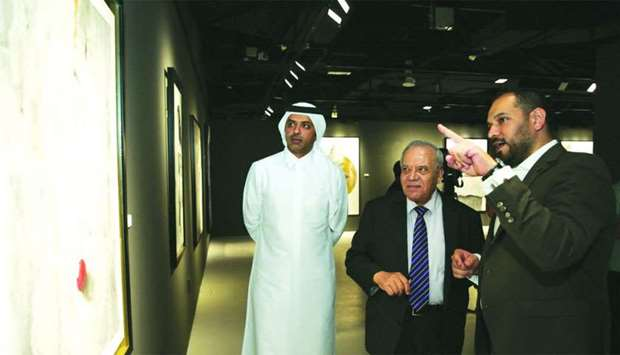 'The Wall' art expo at Katara