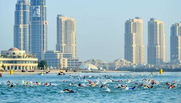 Katara Triathlon - First event in the Qatar National Triathlon Series 2019/2020