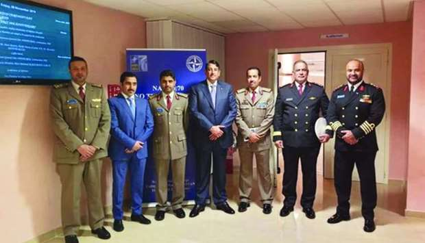 Qatar Participates in Nato's tenth anniversary celebration