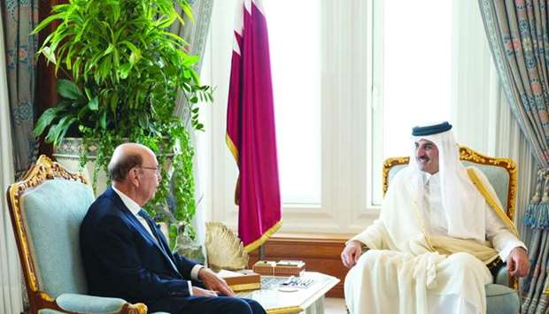 Amir meets US commerce secretary