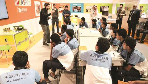 Doha Learning Days aims to explore new skills.