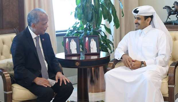 Al-Kaabi meets with Philippines Secretary of Energy