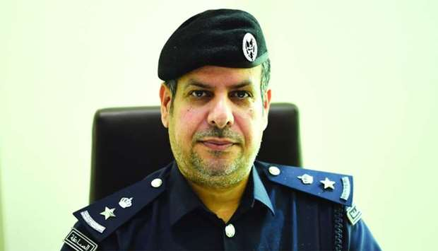 Lt Col al- Sahli.....new law to help official communications with the residents