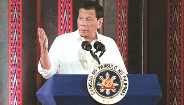 "President Rodrigo Duterte is expected to ""implement and maximise what is presently available under t"