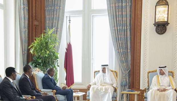 Amir gets message from Somali president
