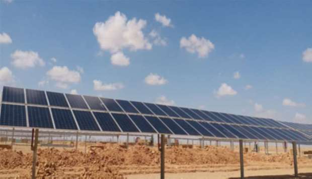 The solar power project is a continuation of latest in a series of international investments for Neb