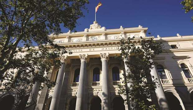 Madrid bourse in Spain