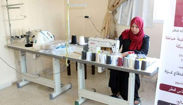Qatar Charity implements income-generating projects in Gaza