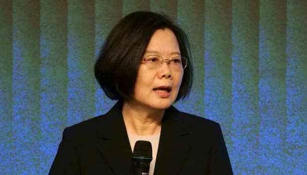 Taiwan president says China interfering in election 'every day'
