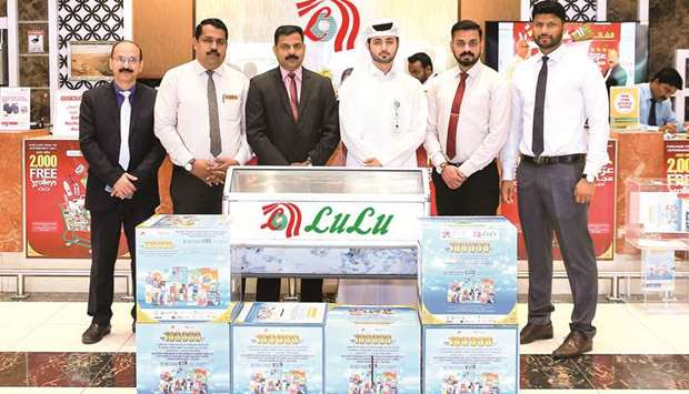 Mega draw for LuLu-Ali Bin Ali (PCP) Promotion conducted at hypermarket