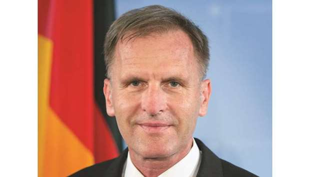 German envoy thanks Qatar for continued support