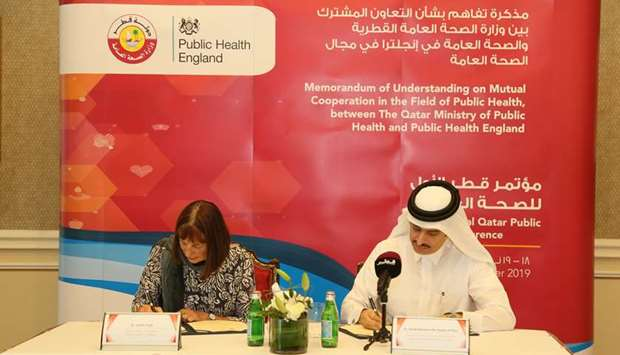 MOPH Signs MoU with Public Health England