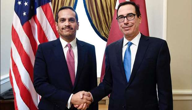 Foreign minister meets US officials