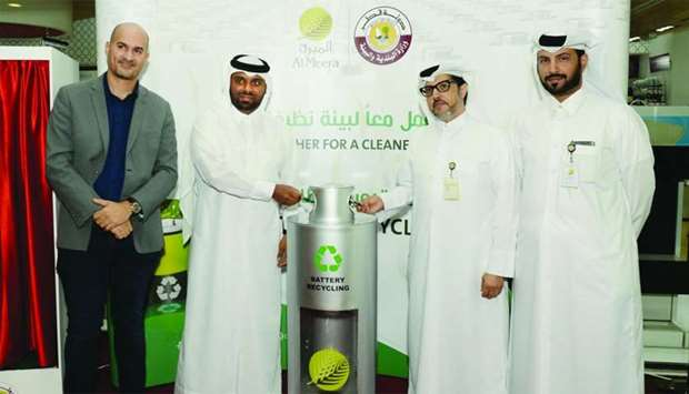 Al Meera launches battery waste collection initiative in collaboration with MME