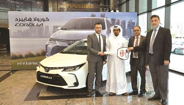 AAB introduced the all-new Toyota Corolla Hybrid to fleet customers present on the occasion.