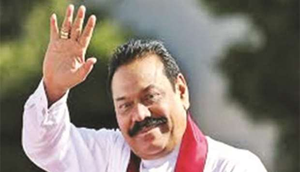 Mahinda Rajapaksa ... new role