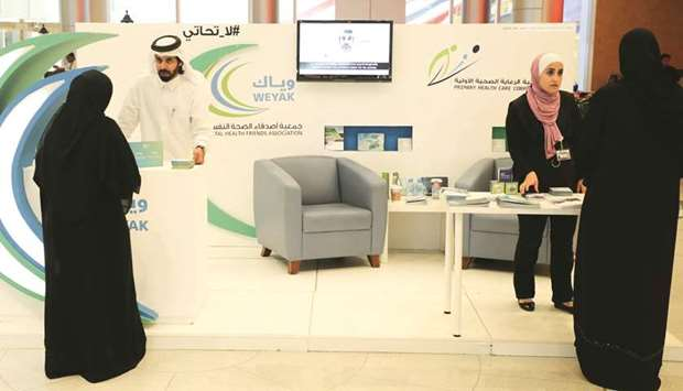 Many shoppers and customers participated in the activities at Doha Festival City.