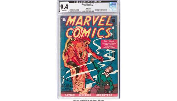 Marvel Comics No. 1.
