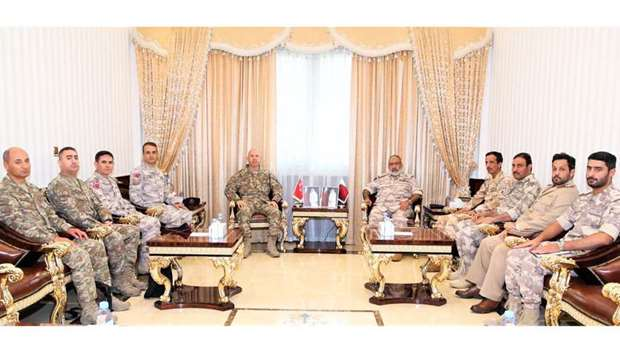 Armed Forces Chief of Staff meets Commander of Turkish Special Forces