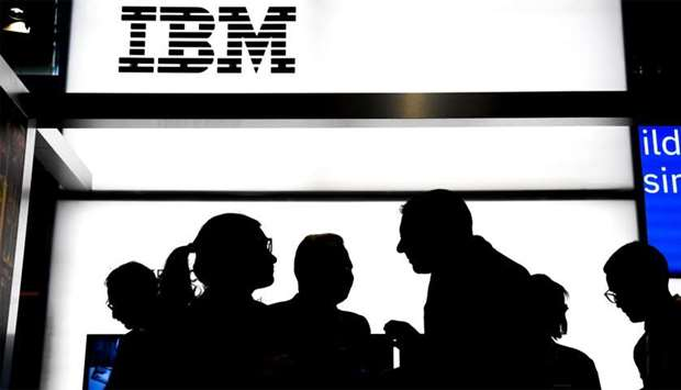 US multinational information technology company International Business Machines Corporation (IBM)