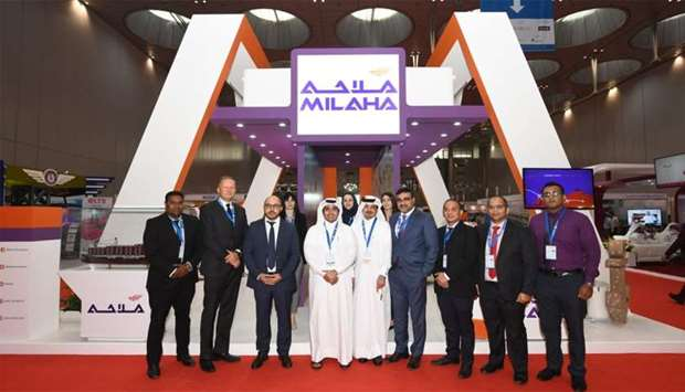 Milaha pavilion at the recently concluded Qatar Silk Road expo.