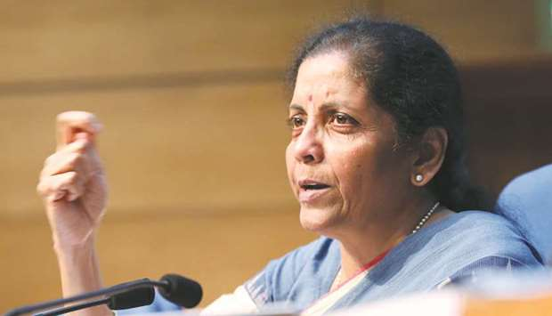 Sitharaman: New measures to revive real estate.