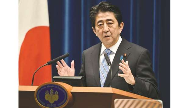 Abe: New stimulus measures.