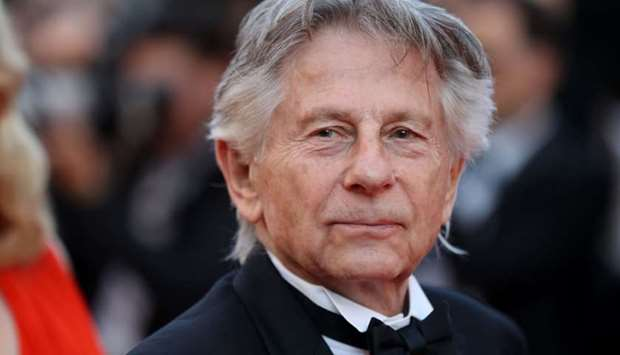 In this file photo taken on May 23, 2017 French-Polish director Roman Polanski poses as he arrives f