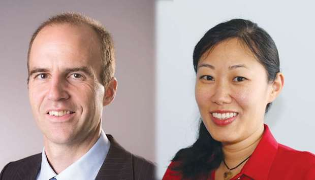 Dr Damien Chaussabel and Dr Bernice Lo