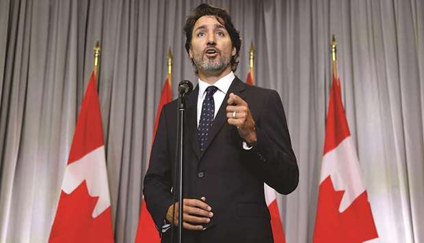 Trudeau: We will always defend freedom of expression. But freedom of expression is not without limit